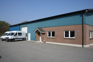 Produktionshalle der Firma RCL Elektrotechnik GmbH aus Wittenborn